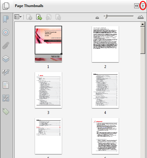 how to delete pages of a pdf in adobe reader